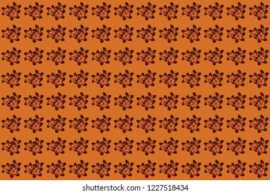 Elegant gentle trendy seamless pattern in small-scale flower. Raster floral seamless background for textile, fabric, covers and manufacturing. Millefleurs. Liberty style.
