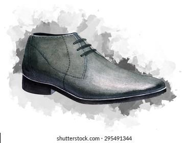 Elegant men's shoes