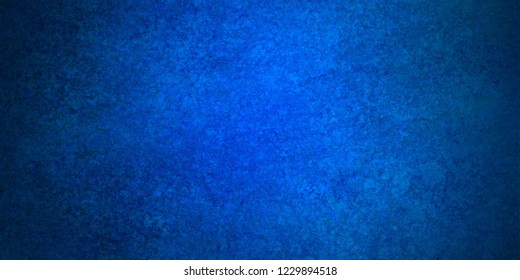 1fd452de5e92 elegant sapphire blue background with dark black border shadow and vintage  distressed texture grunge