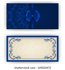 Royal Blue Wedding Invitation Images Stock Photos Vectors Shutterstock