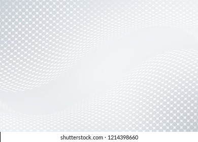 Elegant white gray modern bright halftone dots art background. Business design.