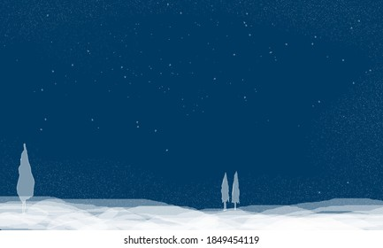 Elegant Winter Background is one of those winter illustrations that is perfect for a winter greeting or greeting card background