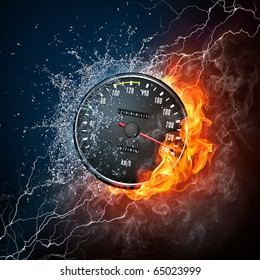 Fast Car Smoke Images Stock Photos Vectors Shutterstock