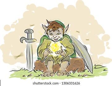 Elf Fantasy Images, Stock Photos & Vectors | Shutterstock