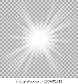 Ellipse. White ellipse. Triangles, white triangles. The illustration is drawn in the form of light and on a checkered background.