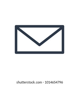 Email icon. Isolated letter and email icon line style. Premium quality  symbol drawing concept for your logo web mobile app UI design.