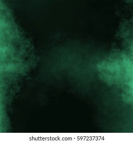 Emerald Green Watercolor Background