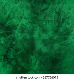 emerald green watercolor spots, abstract pattern, paper texture