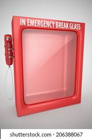 in emergency break glass