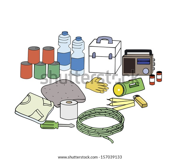Emergency kits Essentials emergency kits when the disaster happen.