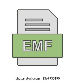 EMF File Document Icon