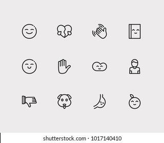 Emoji Icons Read Book Images Stock Photos Vectors