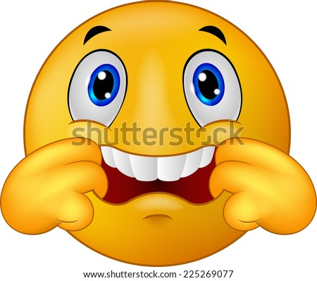d26b9fae Emoticon smiley making teasing face stock illustration royalty jpg 450x400 Teasing  face