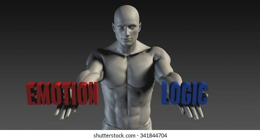 Emotion or Logic as a Versus Choice of Different Belief