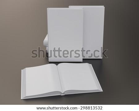 empty book mockup template high resolution stock illustration