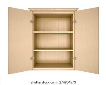 empty cupboard