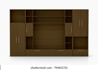 Dark in closet Man Cave Empty Dark Brown Closet Wardrobe Isolated On White 3d Illustration Euroview 1000 Dark Closet Pictures Royalty Free Images Stock Photos And