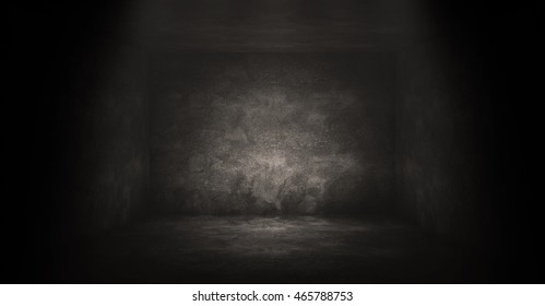 Empty Dark Room Background