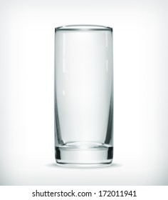 Empty glass, bitmap copy