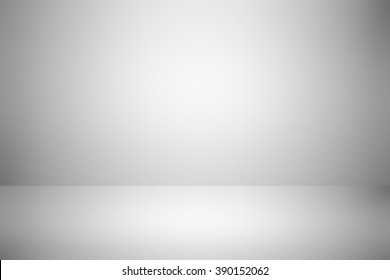 empty gray room studio gradient abstract background / grey background / for display product or write text message