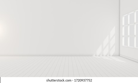 Empty grey interior 3d illustration graphic template for multiple use, empty 3d rendering high resolution image