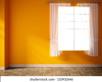 Orange Curtain Images, Stock Photos & Vectors | Shutterstock