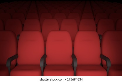 Movie Theater Seat Images Stock Photos Vectors Shutterstock