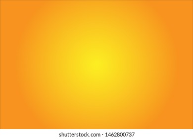 empty orange background with yellow loght