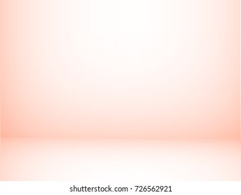 Empty pink studio background. Can be used for product display.