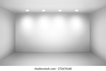 Empty space (empty wall in a room)