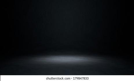 Empty stage 3d illustration