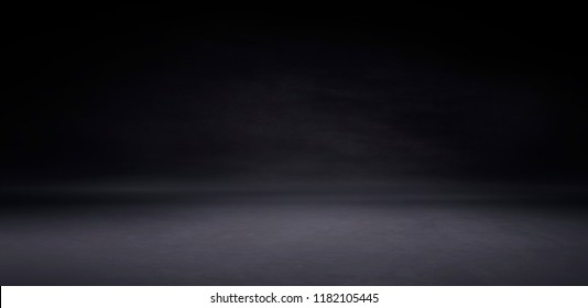 Empty studio gradient used for background and product display