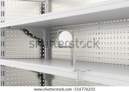 Fabulous Royalty Free Stock Illustration Of Empty Supermarket Shelves Home Remodeling Inspirations Genioncuboardxyz