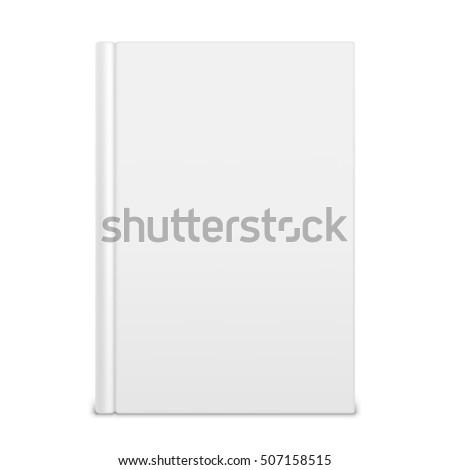 empty white book templateのイラスト素材 507158515 shutterstock