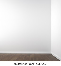 empty white corner room for placement of your product or model all copy space