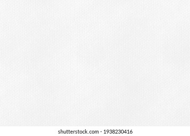 Empty white paper watercolor background. Clean craft paper texture pattern.  top view.
