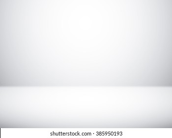 Empty white studio room background for photography indoor