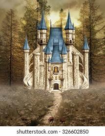 Enchanted Cinderella castle