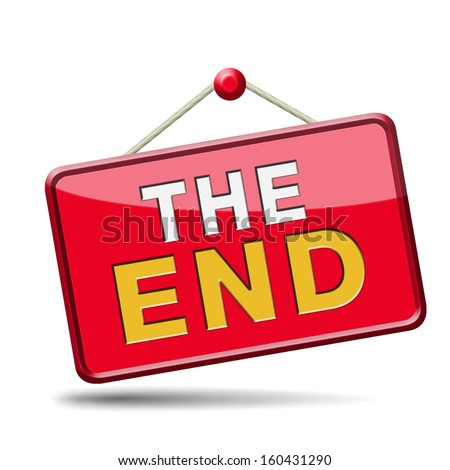 End Icon Sign Finish Point Wayのイラスト素材 160431290 Shutterstock