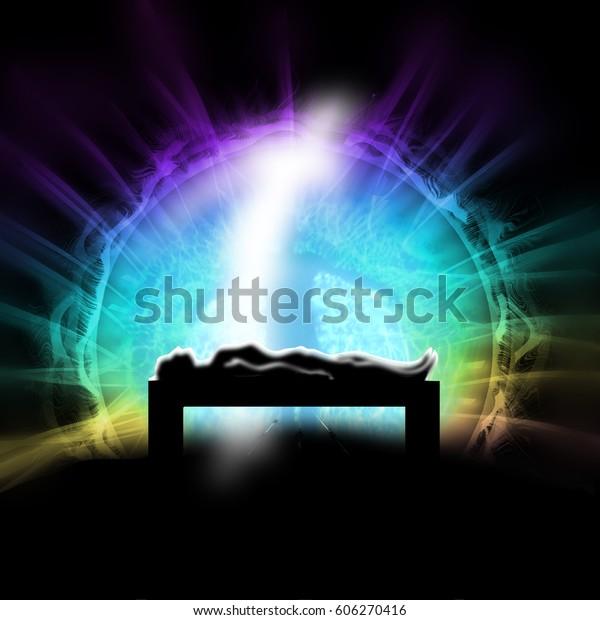 Конец туннеля, концепция освещения, Жизнь после смерти