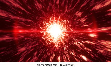 energy and smoke abstract color background