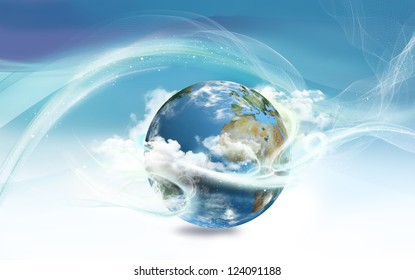 Energy Surrounding Earth with Law of Attraction