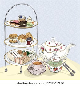 English afternoon tea