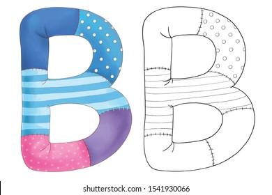 Abc Coloring Pages Hd Stock Images Shutterstock