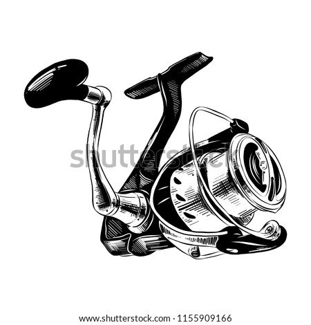 Engraved Style Illustration Posters Decoration Print Stock