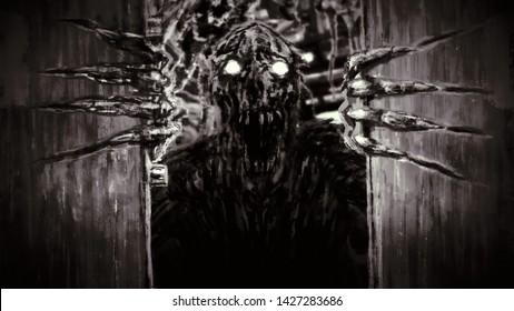 Sinister Door Images Stock Photos Vectors Shutterstock