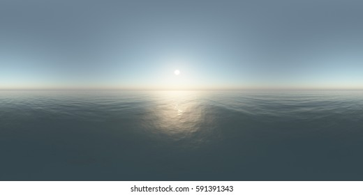Environment map. HDRI map. Equirectangular projection. Spherical panorama. landscape 3D Rendering