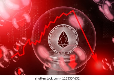 EOS in a soap bubble. Risks and dangers of investing to eos. Collapse of the exchange rate. Unstable concept