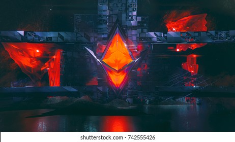 Epic Ethereum 3D Illustration
