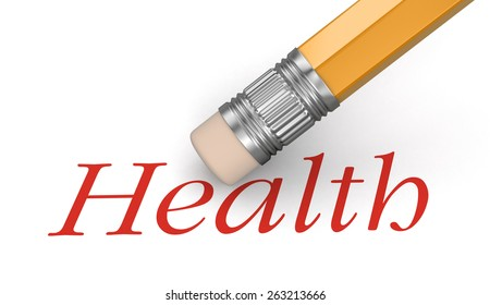 Erase health (clipping path included)